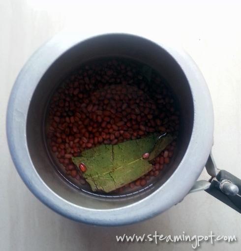 Adzuki Beans in Pressure Cooker