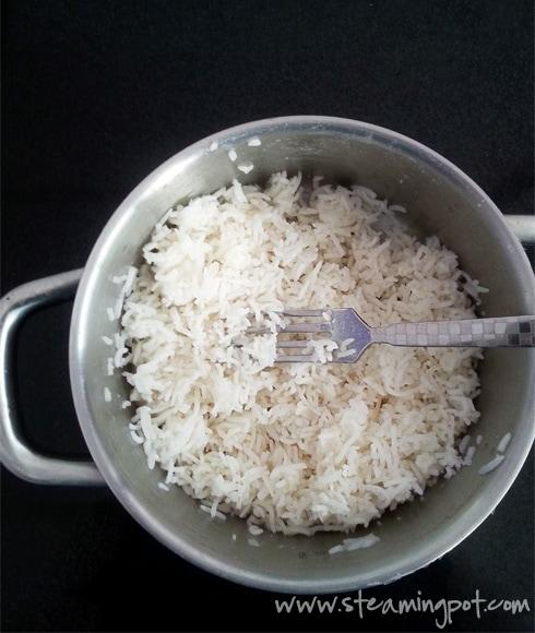 White Rice, Boiled