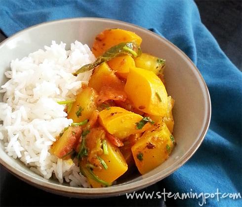 Zucchini Quick Curry