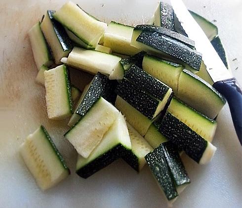 Zucchini Chopped