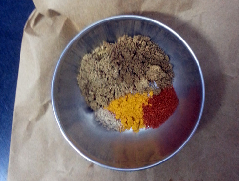 Dry Spice Powders