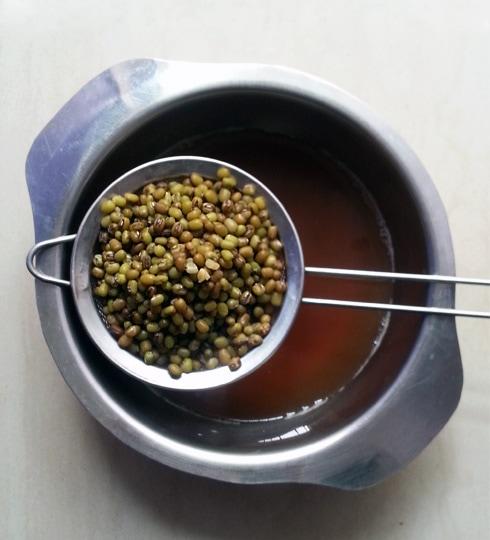 Boiled Green Gram