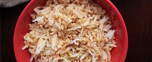 Peanut Sesame Rice
