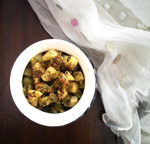 Masala Radish Fry
