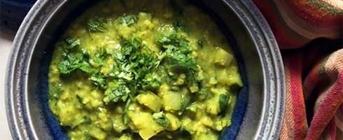 Moong Dal with Zucchini