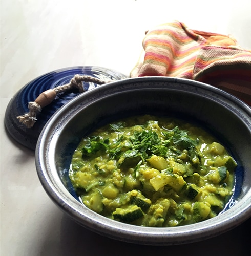 Zucchini Moong Dal