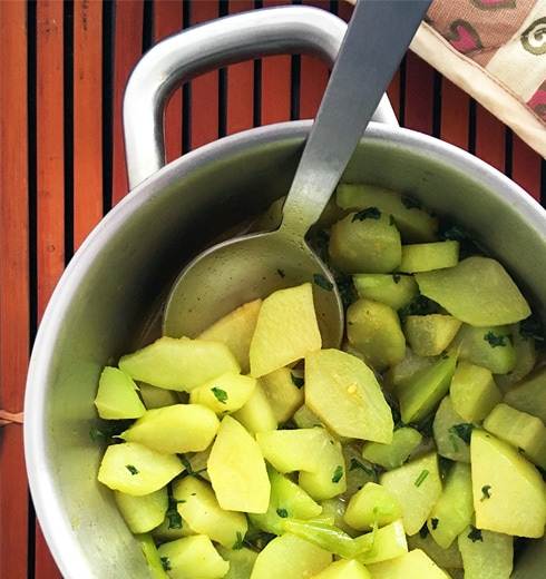 Chayote Stew - Simple Chow Chow Recipe