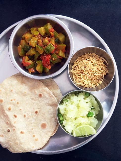 Green Papaya Mash Side Dish