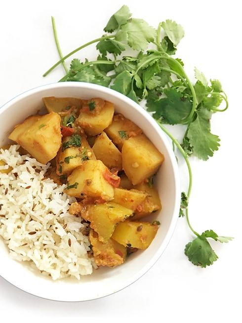 Potato Pumpkin Curry