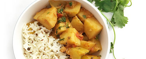 Potato Pumpkin Masala
