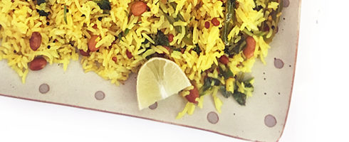 Lemon Rice - Lime Rice