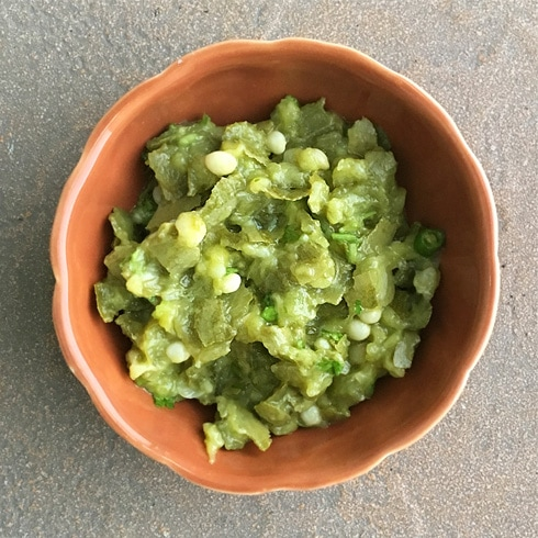 Parval ka Chokha - Pointed Gourd Mash