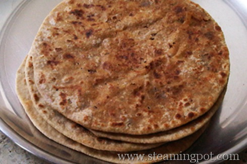 Soya Bean Parathas | The Steaming Pot