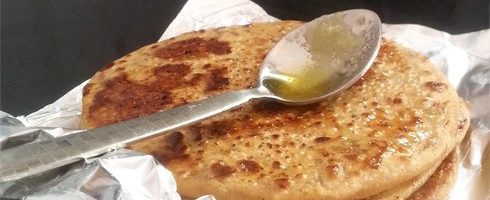 Image result for gur ka paratha