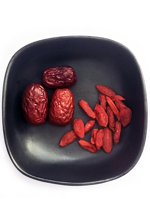 Goji Berry Tea With Chinese Dates The Steaming Pot