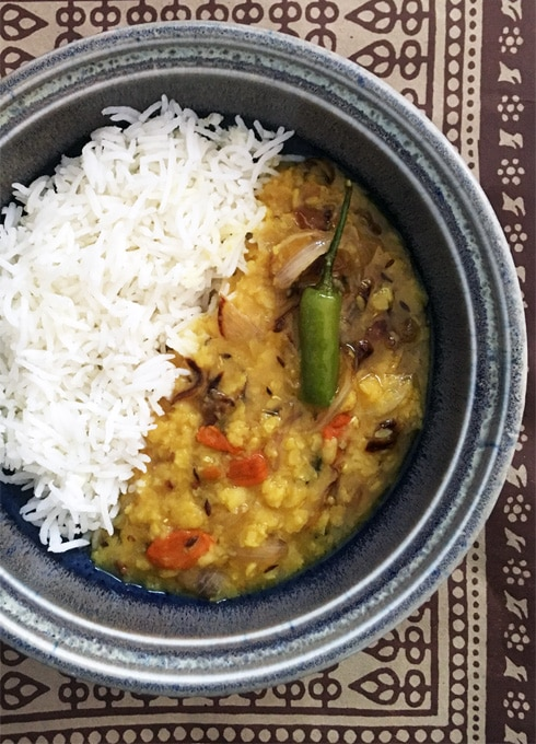 Goji Berry Dal Tadka The Steaming Pot
